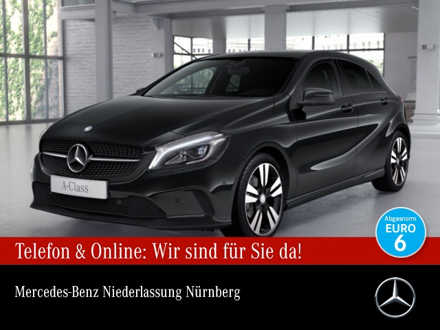 Mercedes-Benz A 180 Urban LED AHK Night Navi PTS Sitzh Temp, Jahr 2016, Benzin