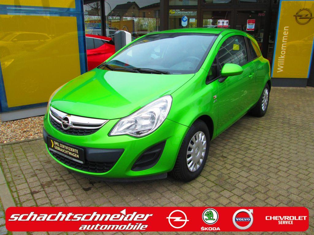 Opel Corsa 1.2 16V Active+Klima+MP3+Bluetooth, Jahr 2013, Benzin