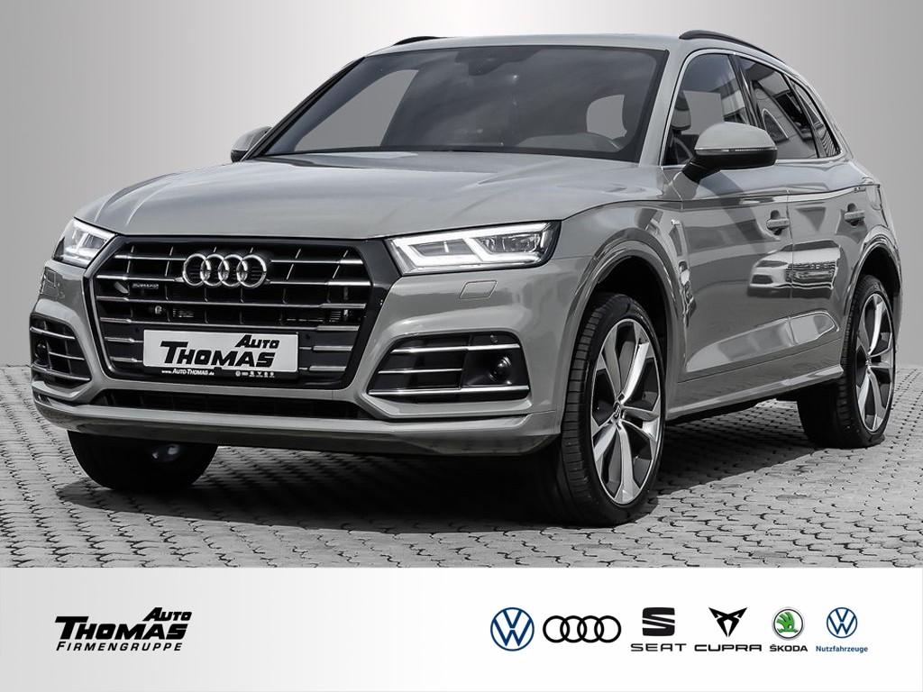 """Audi Q5 """"S line"""" 55 2.0 TFSI e quattro S tronic AHK, Jahr 2020, hybrid"""