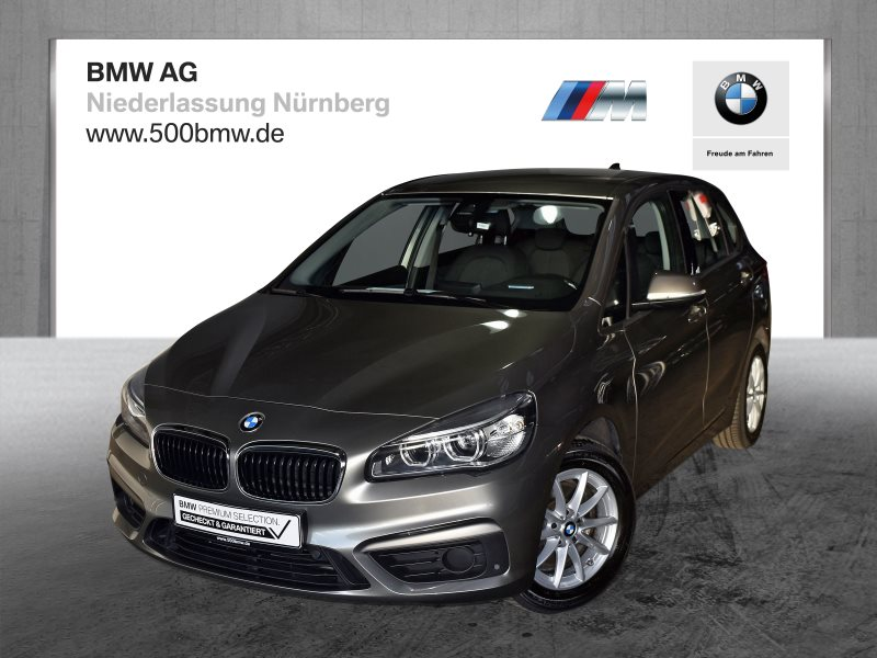 BMW 220i Active Tourer EURO6 Head-Up LED Navi Plus Komfortzg., Jahr 2017, Benzin