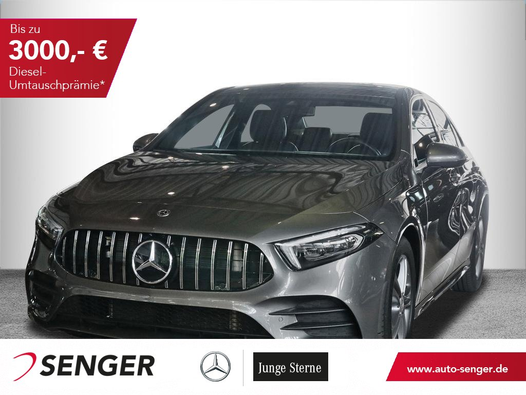 Mercedes-Benz A 200*Limousine*Progressive*Display digital*LED*, Jahr 2019, Benzin
