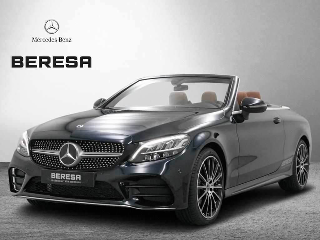 Mercedes-Benz C 180 Cabrio AMG Burmester Leder Kamera Memory, Jahr 2019, Benzin