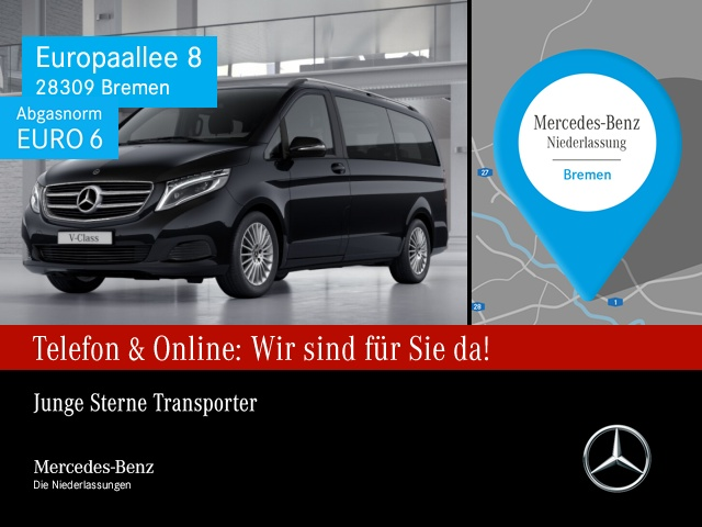 Mercedes-Benz V 250 lang 4M BT Edition Sportpak COMAND ILS LED, Jahr 2016, Diesel