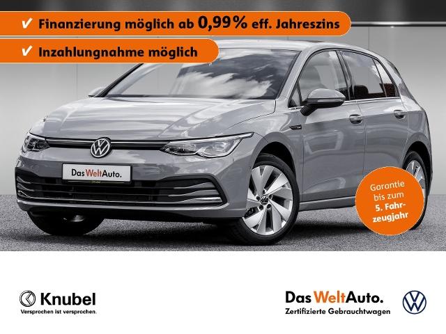 Volkswagen Golf VIII Style 1.5 eTSI DSG NavPro IQ.Light Sta, Jahr 2020, Benzin