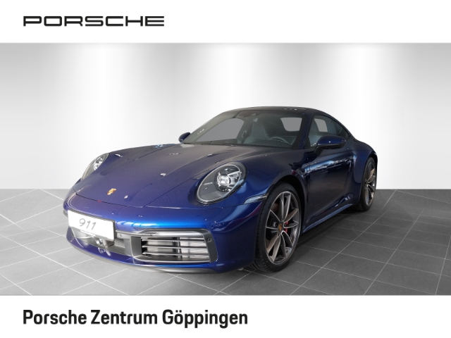 Porsche 992 (911) Carrera S Coupe Bose, Matrix, Sitzbelüftung,, Jahr 2019, petrol