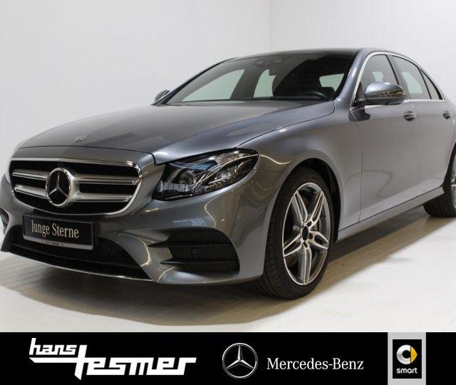 Mercedes-Benz E 450 4M AMG+Comand+Fahrassist.+Pano.-Dach+360°, Jahr 2019, Benzin