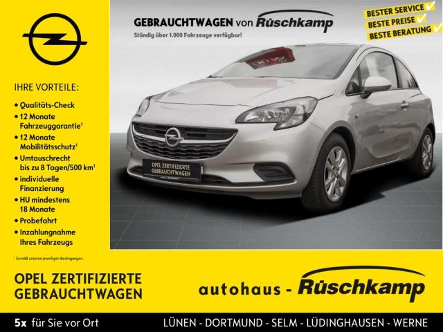Opel Corsa E Edition 1.4 Klima BT Servo ZV eFH, Jahr 2014, Benzin