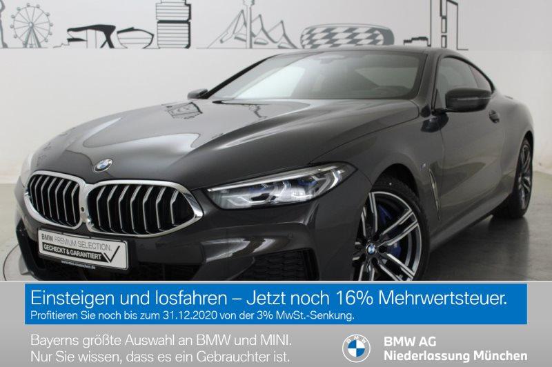 BMW 840d xDrive Coupé M Sportpaket HK HiFi DAB Alarm, Jahr 2020, Diesel