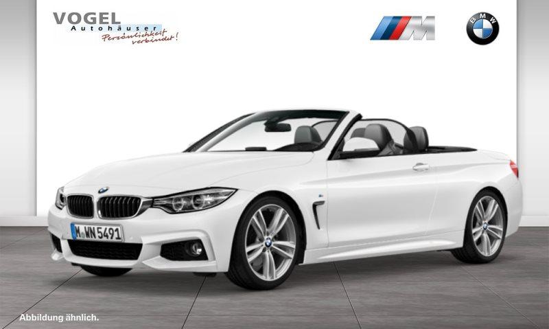 BMW 428i Cabrio M Sportpaket Euro 6 Navi Prof Head-Up Display PDC Klima Sitzheizung Xenon Speed Limit Info Lichtpaket, Jahr 2014, Benzin