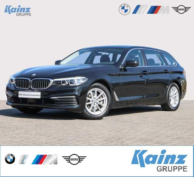 BMW 525d Touring Aut. Business Paket/ Navi /SHZ/AHK/ ACC/PDC v.h / DAB-Tuner, Jahr 2017, Diesel
