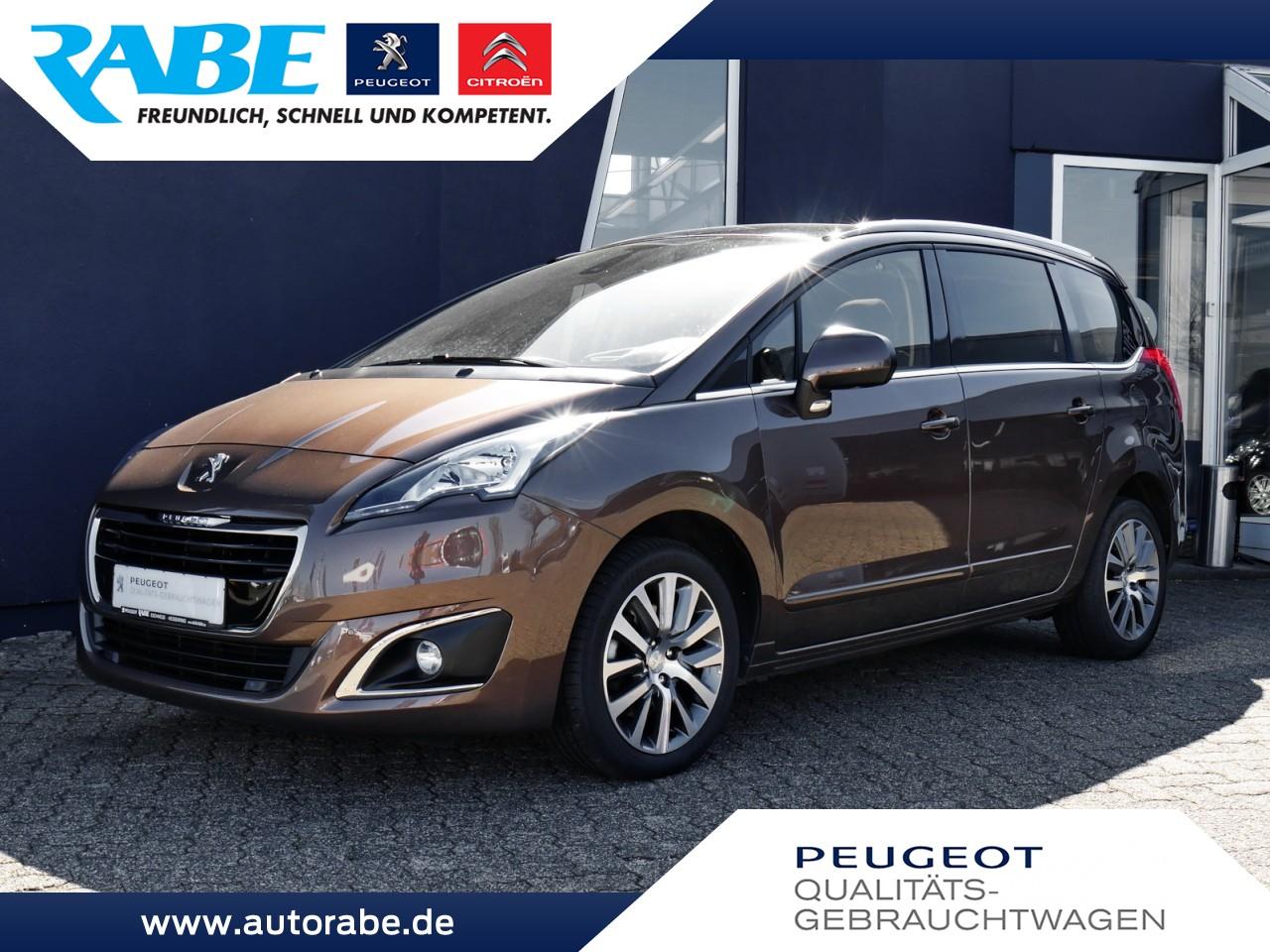Peugeot 5008 Allure 155 THP Top-Zustand+1.Hand+Pano+PDC, Jahr 2015, Benzin