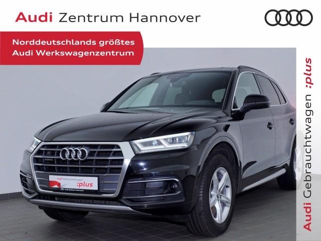 Audi Q5 40 TDI quattro sport, Matrix, virtual, AHK, ACC, Alcantara, Jahr 2018, Diesel