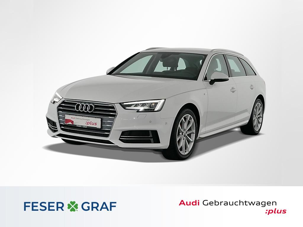 Audi A4 Avant 2.0 TDI S tronic S Line Ext Navi,LED, Jahr 2018, Diesel