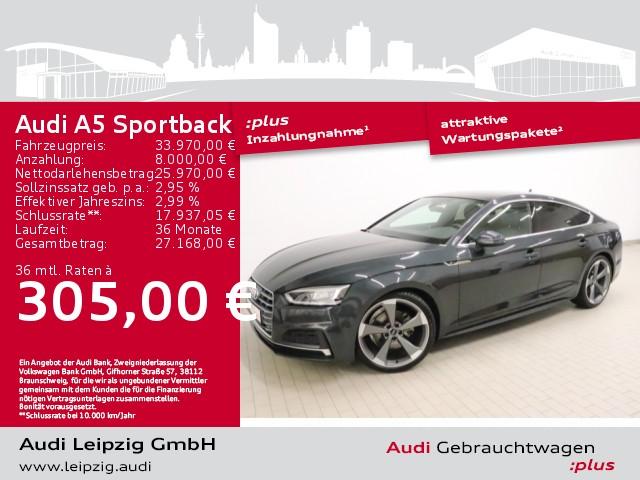 Audi A5 Sportback 2.0 TFSI sport *S line*Pano*LED*, Jahr 2018, Benzin