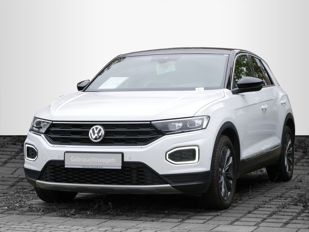 Volkswagen T-Roc 2.0TSI DSG Sport 4x4 STHZG AHK NAVI LED, Jahr 2018, Benzin