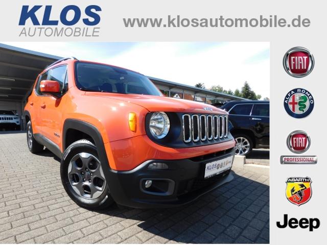 Jeep Renegade 1.4 MAIR LONGITUDE 159mtl. FWD FREISPR PDC KLIMA, Jahr 2015, Benzin