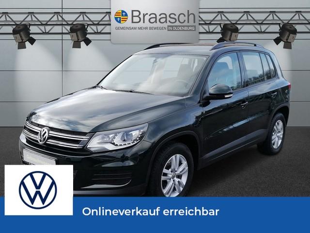 Volkswagen Tiguan 1.4 TSI Trend & Fun AHK, Xenon, Jahr 2014, Benzin