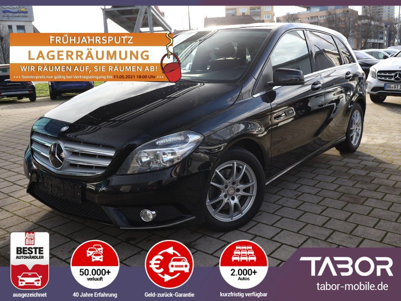 Mercedes-Benz B 200 CDI Leder Nav ParkA 16Z SHZ ChromP SitzP, Jahr 2015, Diesel