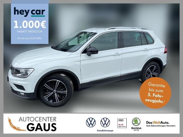 Volkswagen Tiguan Comfortline 1.5 TSI Navi AHK Standhzg., Jahr 2020, Benzin