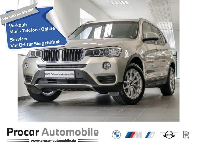 BMW X3 xDrive20d Aut. Klimaaut. Xenon PDC Durchlade, Jahr 2017, Diesel