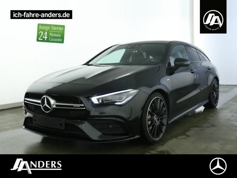 Mercedes-Benz CLA 35 AMG SB 4M MBUX+RideCon+Pano+Distr+LED+Kam, Jahr 2019, Benzin