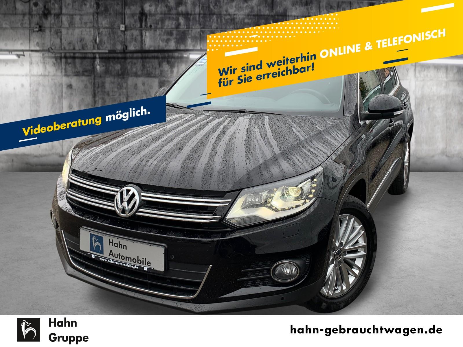 Volkswagen Tiguan Cup Sport & Style 1.4TSI Bi-Xen Sitzh PDC, Jahr 2014, Benzin