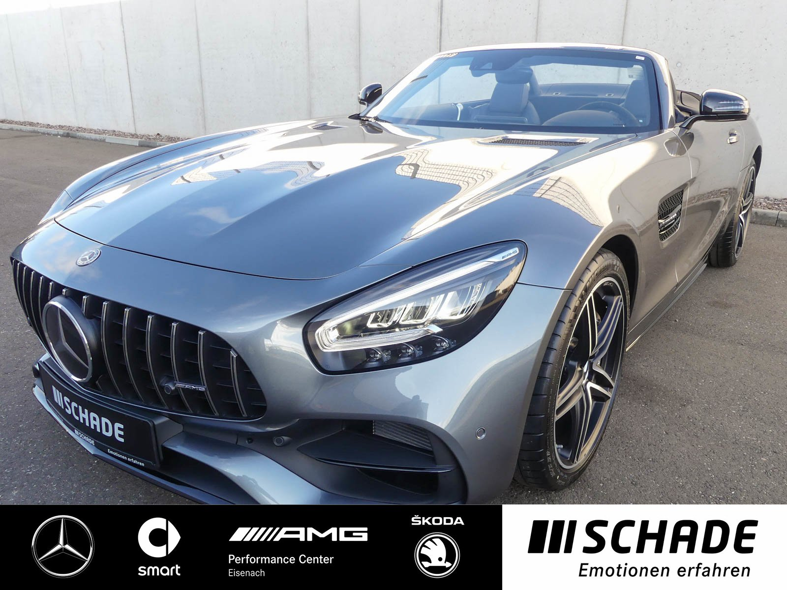 Mercedes-Benz AMG GT Roadster *Comand*Burmester*LED* AMG Sport, Jahr 2019, Benzin