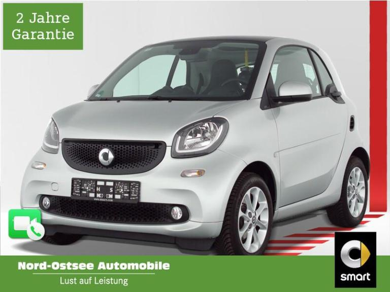 smart fortwo coupé 52 kW passion Cool+Audio LED Pano, Jahr 2019, Benzin