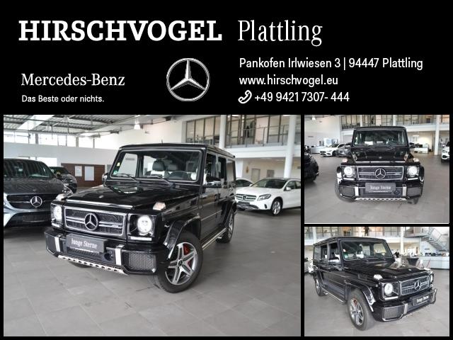 Mercedes-Benz G 63 AMG EDITION 463+DRIVERS-PACKAGE+designo+AHK, Jahr 2016, Benzin