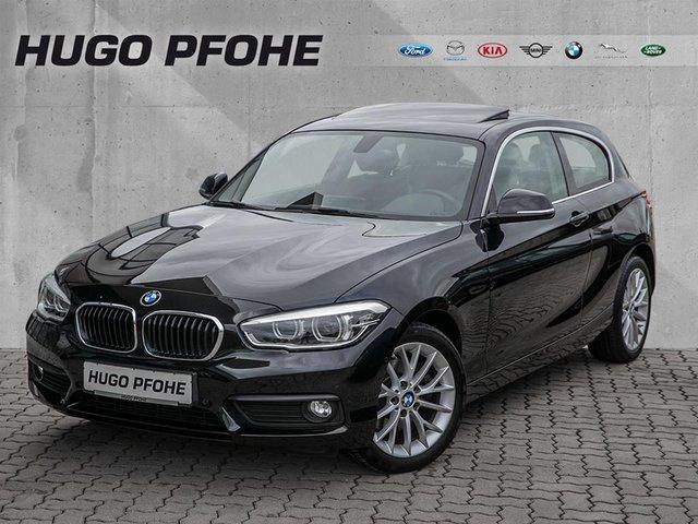 BMW 125i Aut. Advantage Navigation / LED / Schiebedach, Jahr 2015, petrol