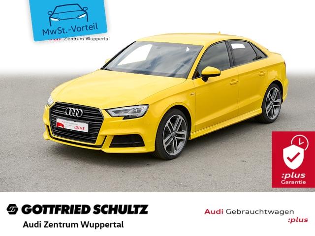 Audi A3 Lim 2.0TDI 2xS-LINE LED NAV SHZ PDC VO+HI FSE B Sport, Jahr 2017, Diesel