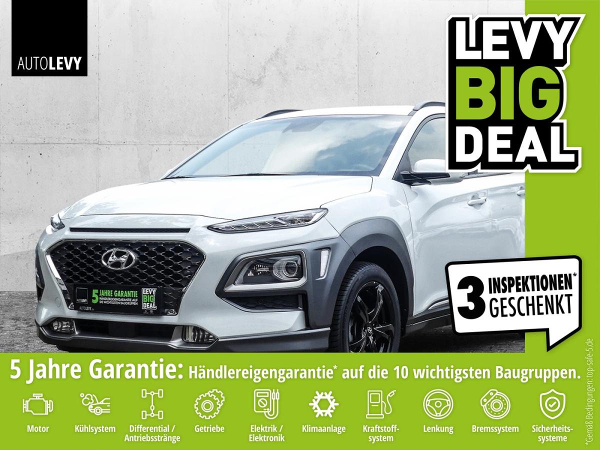 Hyundai Kona T-GDI Premium *HEAD-UP*KAMERA*LED*NAVI*, Jahr 2018, Benzin
