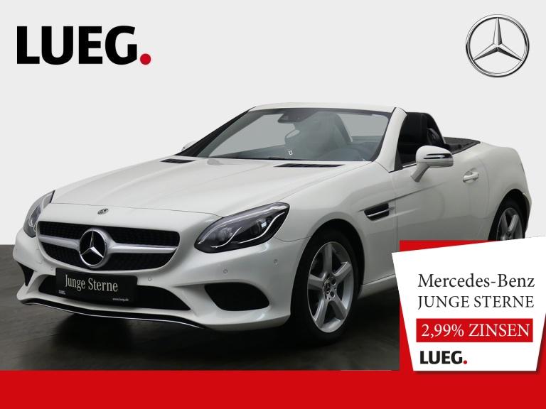 Mercedes-Benz SLC 180 Navi+Pano+LED-ILS+AIRSCARF+Totw+SHZ+PTS+, Jahr 2019, Benzin