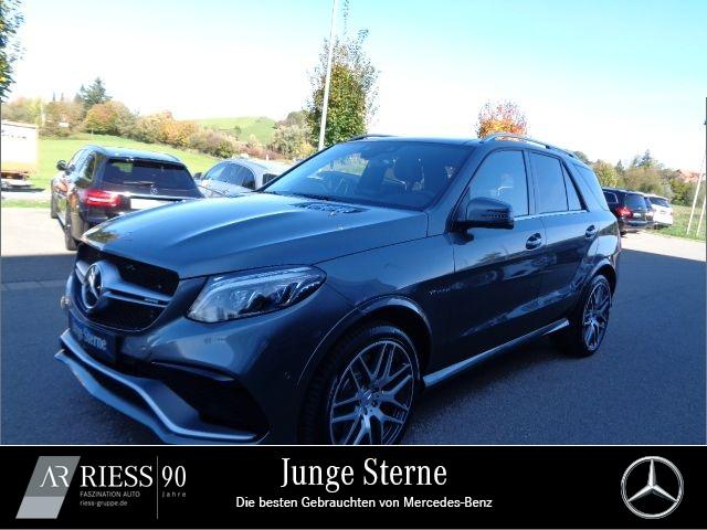 Mercedes-Benz GLE 63 AMG S 4M Comand+Pano+Distronic+Kamera+PTS, Jahr 2017, petrol