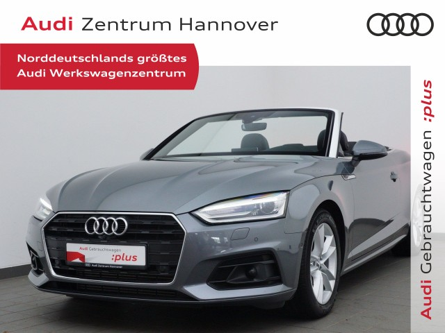 Audi A5 Cabriolet 2.0 TFSI virtual, AHK, Xenon, Alcant., Navi, ACC, Jahr 2017, Benzin