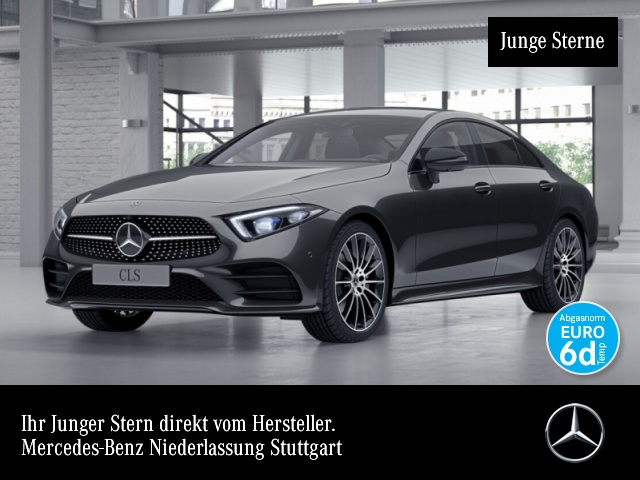 """Mercedes-Benz CLS 300 d AMG Fahrassi Multibeam 20"""" AHK 360°, Jahr 2019, diesel"""