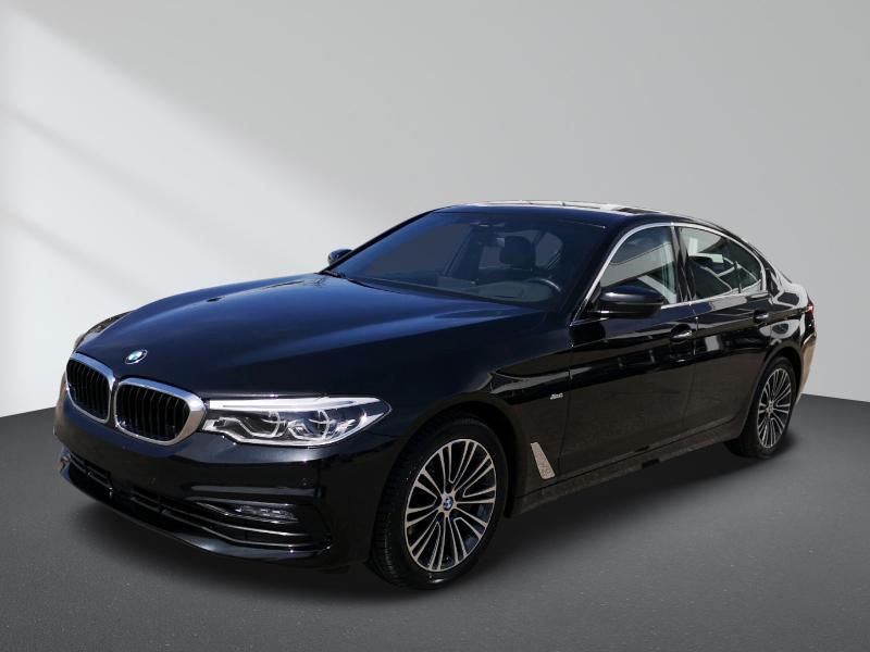 BMW 540i xDrive Sport Line Innovationsp. Sport Aut., Jahr 2017, Benzin