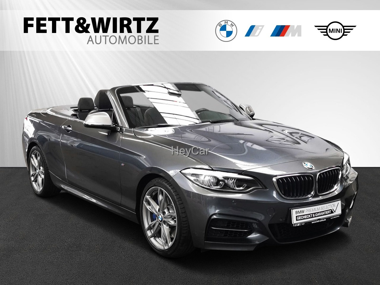 BMW M240i xDrive Cabrio NaviProf. PDC H&K, Jahr 2018, Benzin