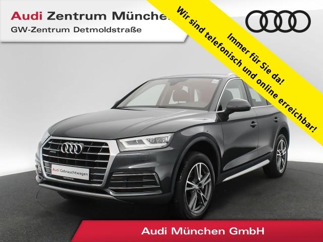 "Audi Q5 2.0 TDI qu. Design LED Navi Leder Assistenz R-Kamera 19"" S tronic, Jahr 2017, diesel"