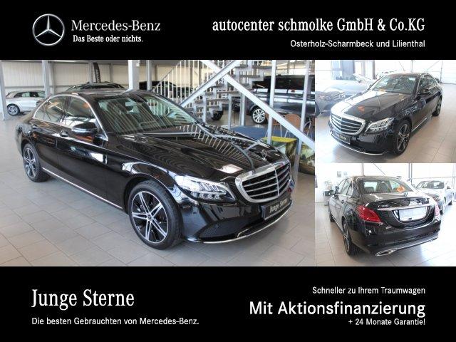Mercedes-Benz C 300 EXCLUSIVE*AHK*SHD*LED HIGH PERFORMANCE*RFK, Jahr 2018, Benzin
