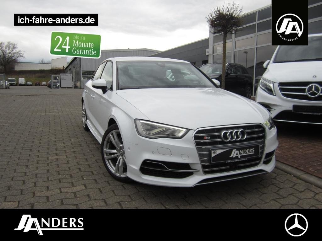 Audi S3 2.0 TFSI quattro Navi+Sitzheizung+LED+PDC+ACC, Jahr 2015, Benzin