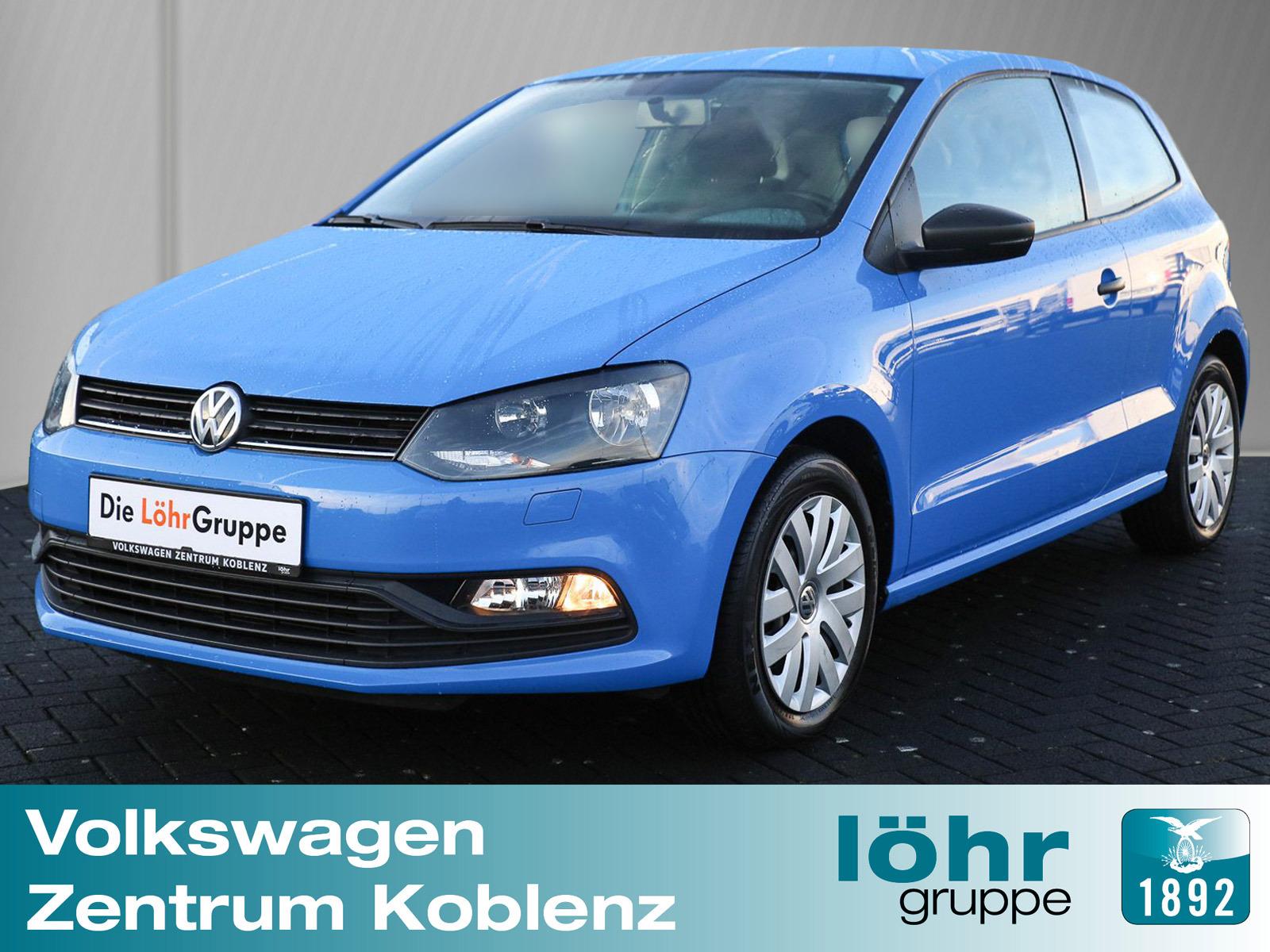 Volkswagen Polo 1.0 Trendline Cool a. Sound / Sitzheizung, Jahr 2015, petrol