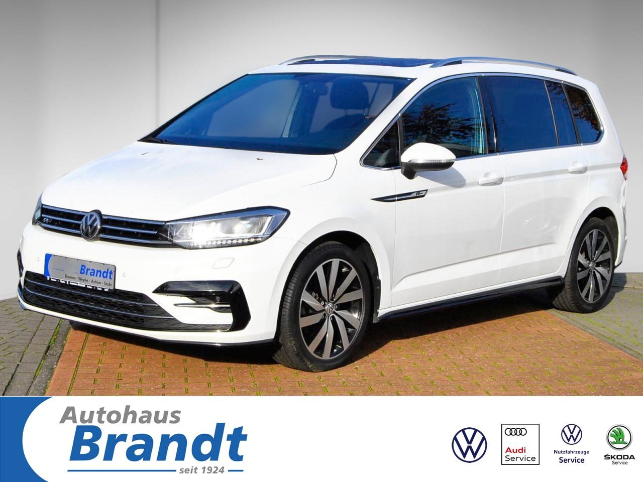 Volkswagen Touran 1.4 TSI Highline LED*R-LINE*NAVI*PANO*AHK, Jahr 2016, Benzin