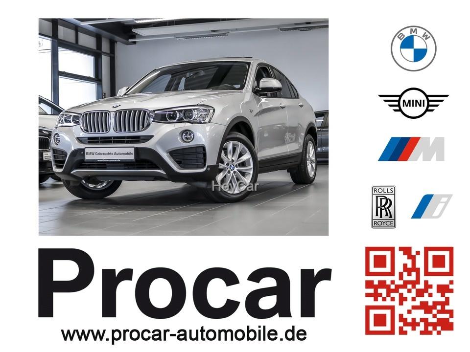 BMW X4 xDrive35d AT Sport Aut. Navi Business 18''LM, Jahr 2014, Diesel