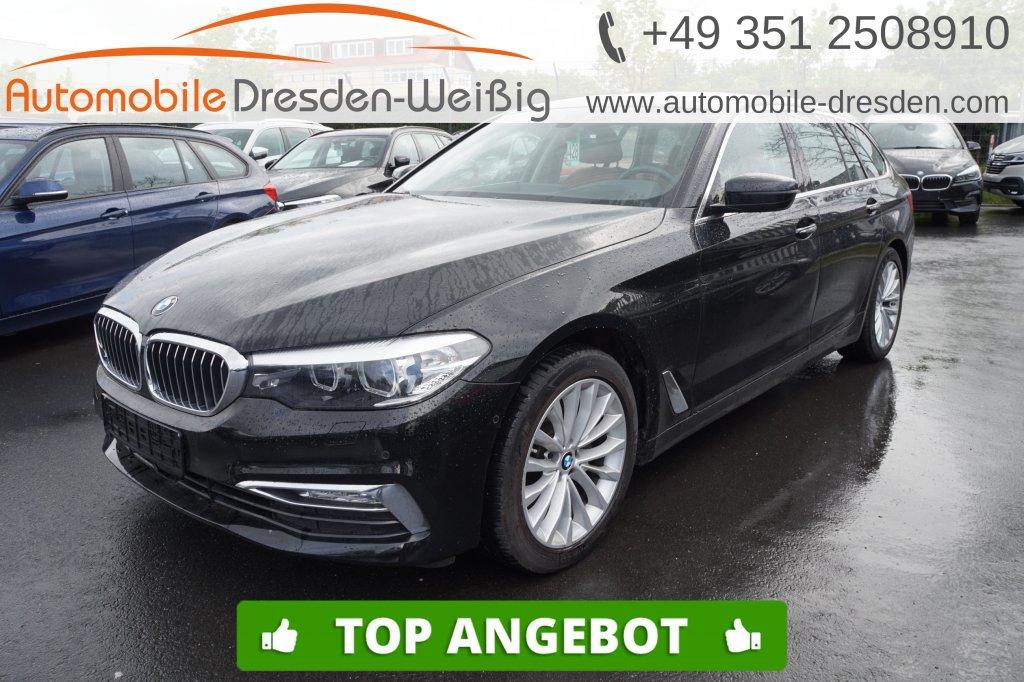BMW 520 d Touring Luxury Line*Navi Prof*HeadUp*Leder, Jahr 2018, Diesel