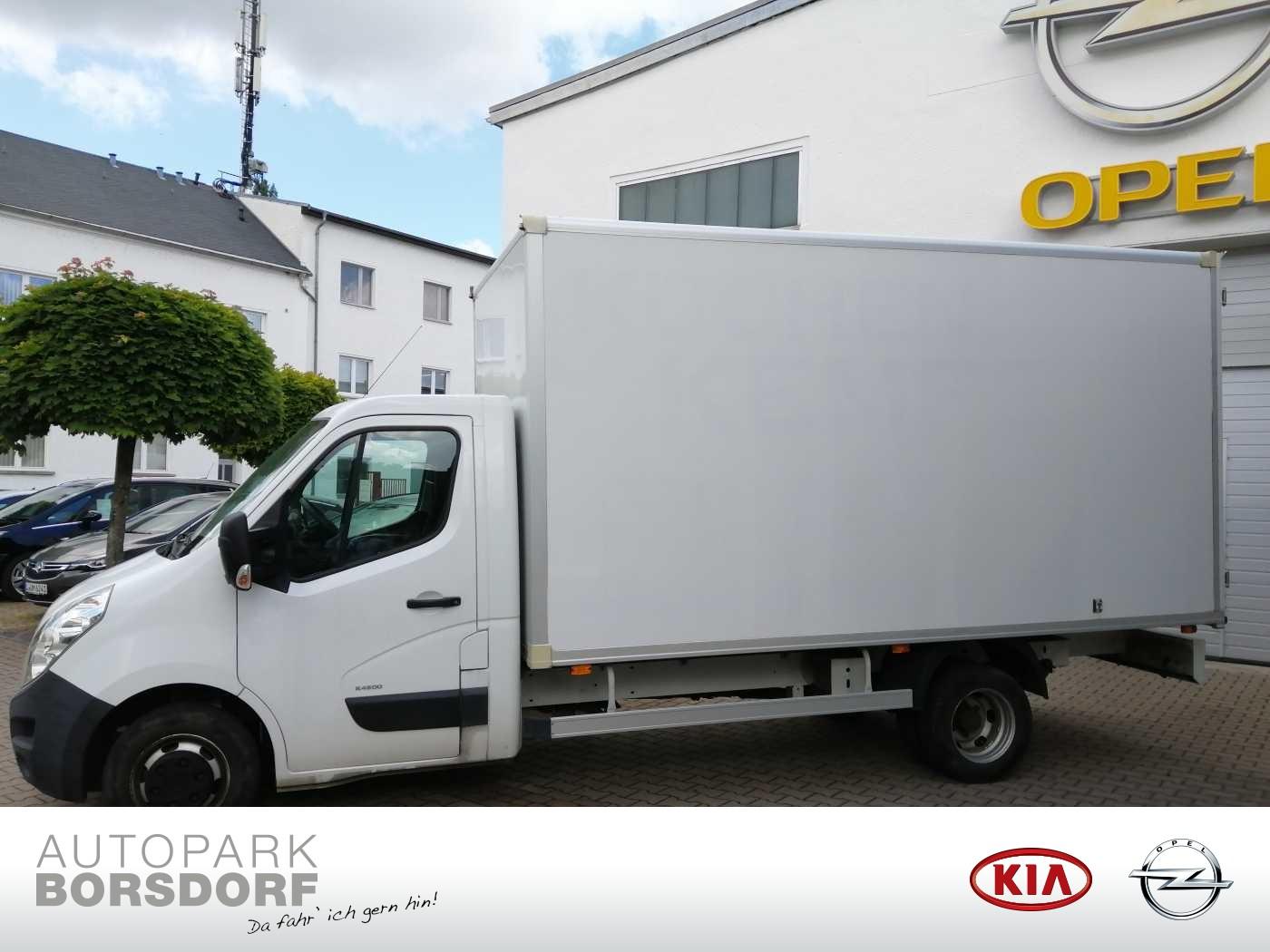 Opel Movano B 2.3 CDTI 125 (4,5t) L4H1 RWD (zwillingsbereift), Jahr 2014, Diesel