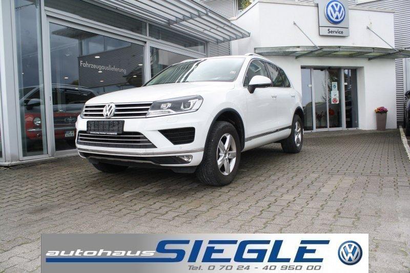 Volkswagen Touareg 3.0 TDI Leder*Navi*Xenon*Luftfederung*AHK*4 x Sitzheizung, Jahr 2016, Diesel