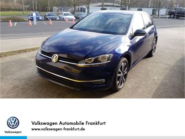 "Volkswagen Golf VII 1.0 TSI IQ.DRIVE Alu16"" Rückfahrkamera Anschlußgarantie, Jahr 2019, petrol"