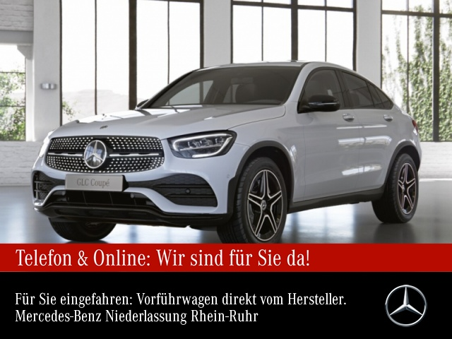 Mercedes-Benz GLC 200 Coupè 4M AMG NAVI PARKASS., Jahr 2020, Benzin