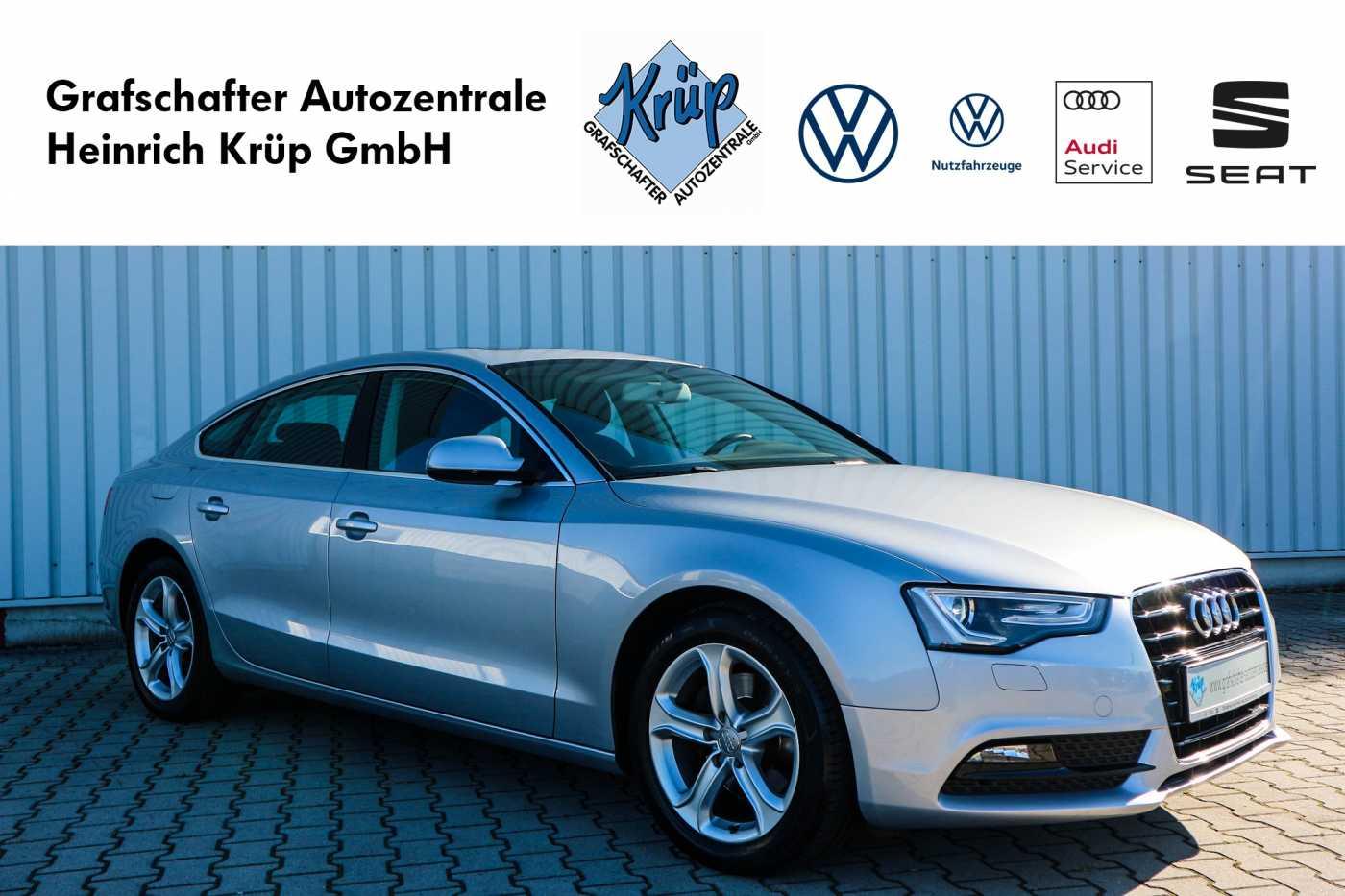Audi A5 2.0 TDI Sportback DPF multitronic *Standheizung*Schiebedach*, Jahr 2016, Diesel
